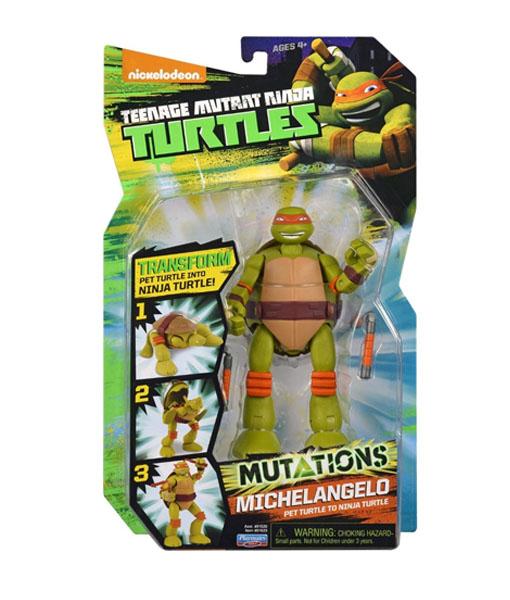 Ninja Kaplumbağalar Michelangelo Delüks Mutasyon Figür