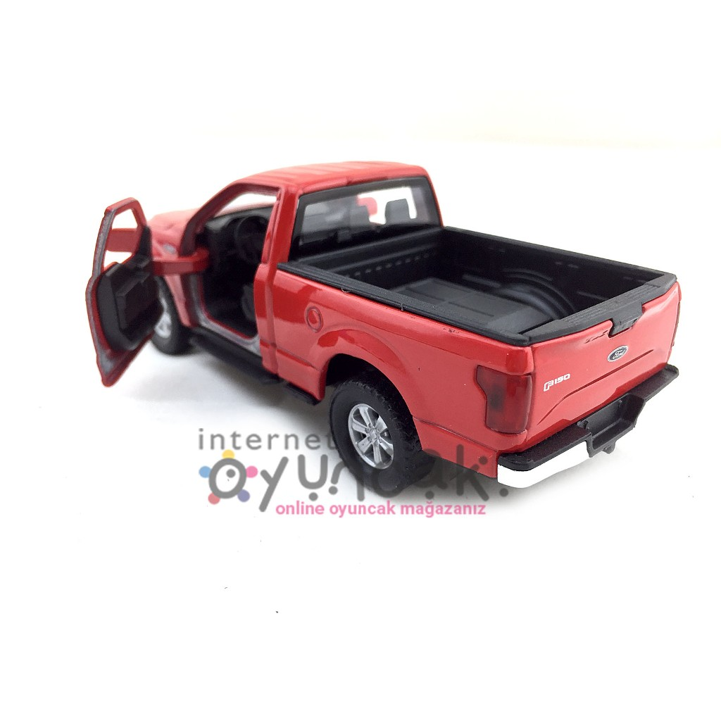 Welly Diecast 2015 Ford F150 Regular Cab Pick-Up Oyuncak